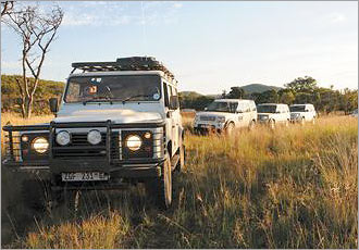 Go in 4x4 convoy for safety and companionship