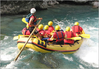 Experience some of the best white water in the world