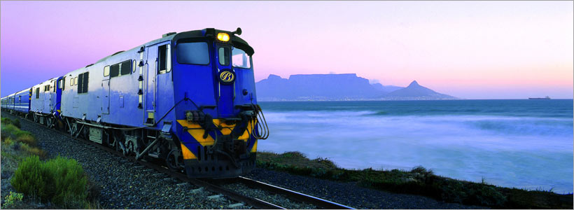 Luxury journey with The Blue Train